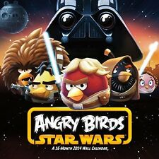 Angry Birds Star Wars 2014 Wall Calendar BNISW THE DAY U PAY IT SHIPS FREE