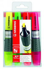 Stabilo Luminator Highlighter Pens ASSORTED Wallet of 4