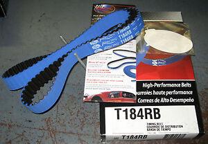 Gates T184RB Timing Belt 1990-01 Acura Integra LS, RS, GS B18A, B18B Racing Blue