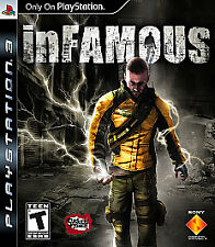 NEW PS3 Sealed inFamous  Greatest Hits (Sony PlayStation 3, 2009)