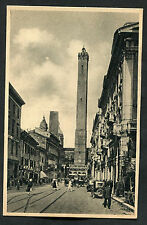 C1920s View of People & Cars, Via Rizzoli, Bologna, Italy