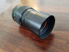 Minolta Vintage MD Tele Rokkor-X Lens 1:2.8 135mm Japan Plus Hoya Filter