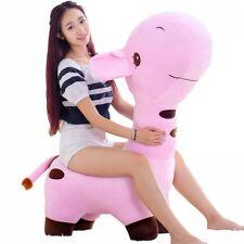 Fancytrader Giant Plush Giraffe Toy Soft Stuffed Animals Kids Chair 5 Colors