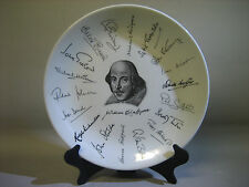 1960s Shakespeare decor plate, A Holkham-Lidor Production for W.H.Smith & Son