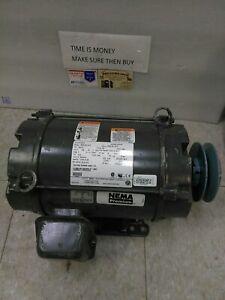 US Motors 5HP/208-230 v /FR 184Tz /1765 RPM/ 6206-2Z-J/C3/ TYPE DE/INS F(BK)