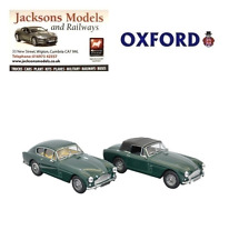 Oxford 43SET32 Aston Martin DB2 MKII Twin Set Saloon and DHC 1:43 Scale