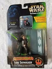 Kenner Star Wars Potf Electronic Power Efx Luke Skywalker Action Figure