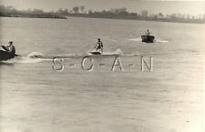 Wwii German Rp- Soldier- Semi Nude- Gay Interest- Sports- Water Skiing- Boat