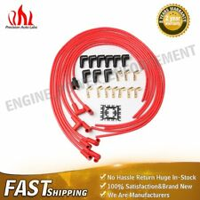 4041 8mm Spark Plug Wires Universal Cut to Length 90 Degree Boots