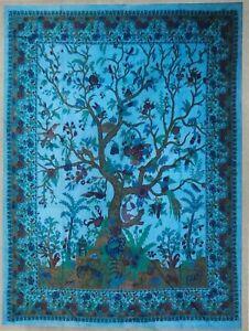 100% Kantha Cotton Printed Bedspread