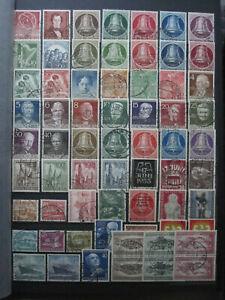 Berlin Briefmarken 1950-1990 gestempelt komplett Michel 71-879.