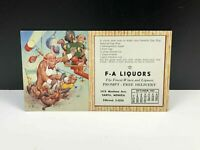 Vintage LAWSON WOOD Cut! Marketing Postcard Ice Creem Cash Or Trade