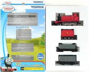 Tomix 93812 Thomas & Friends - James 3 Cars Set - N (USED)