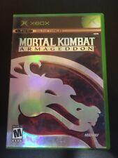 Mortal Kombat : Armageddon - ( Microsoft Xbox , 2006 ) Complete W/box & Manual !