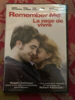 Remember Me (DVD, 2010, Canadian) english and french audio factory sealed