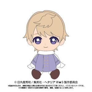 Presale Hetalia World Stars Russia Chibi Stuffed Plush Doll 145mm Japan Limited
