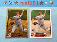 2012 Topps Gold Sparkle #US16 PATRICK CORBIN Rookie | Nationals | Lot x 2 RC