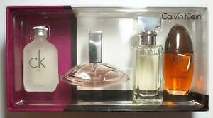 Calvin Klein mini gift set  4x15ml men, Ck One, Euphoria, Eternity, Obsession