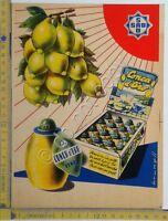 Stampa pubbicitaria - Conca d'Oro - SAD - anni '60 - illustrata da Brunell