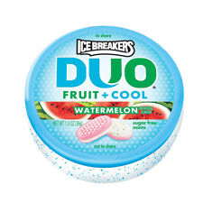 ICE BREAKERS DUO Fruit + Cool (Watermelon, 1.3-Ounce Containers, Pack of 24)