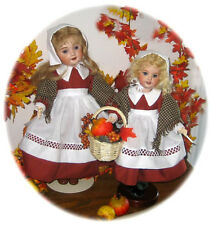 DONNE DES MERCI THANKSGIVING PATTERN BLEUETTE & ROSETTE