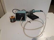Weller PS-3D Soldering Station & TCP Soldering Iron + tips + solder reel