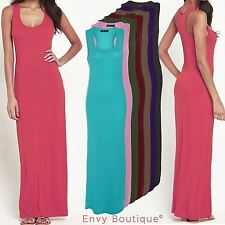 Women's Summer/Beach Scoop Neck Maxi Dresses Plus Size