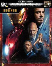 Iron Man Steelbook (4K Ultra + Blu-ray) - VG