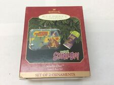 Hallmark Keepsake Ornaments 1999 Scooby-Doo Lunch Box & Thermos NIB New