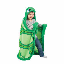 Wild Things Snapper Turtle, Hooded Animal Blanket by Fin Fun