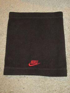 Nike Boys Fleece Winter Neck Gaiter Black