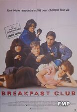 THE BREAKFAST CLUB - HUGHES / ESTEVEZ / RINGWALD - ORIGINAL LARGE FRENCH POSTER