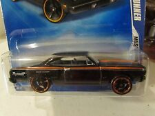 Hot Wheels '70 Plymouth Road Runner Muscle Mania Black