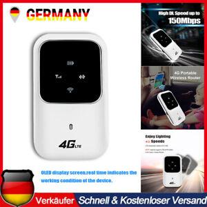 Wireless Router Tragbare 4G LTE Mobiles Breitband WLAN Hotspot SIM WIFI Modem DE