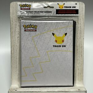 Pokemon 25th Anniversary First Partner Collector's Binder With Oversize Pikachu