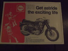 BSA Whole Range Sales Brochure 1970 NOS