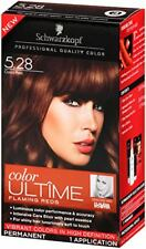 Schwarzkopf Color ULTÎME Permanent Hair Color, # 5.28 Cocoa Red