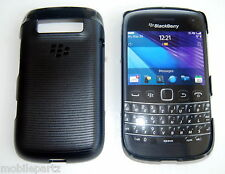 Genuina Original Blackberry Bold 9790 Negro Hard Shell Funda asy-40369-001