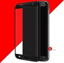 3D HD+ Tempered Glas Panzer Folie SCHUTZ für Samsung Galaxy S7 Edge SCHWARZ▀