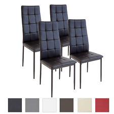 4 X Esszimmerstühle RIMINI   Schwarz   Esszimmerstuhl Küchenstuhl Stuhl  Stühle