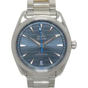 OMEGA Seamaster Aqua Terra Watch Men's 220.10.41.21.03.002 Automatic Blue SS