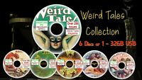 Weird Tales Magazine-horror/occult collection-fantasy, witchcraft - High grade