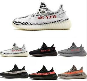 Men's Women Boost 35 0 V2 TRAINERS FITNESS GYM SPORTS RUNNING SHOCK Size 3-10