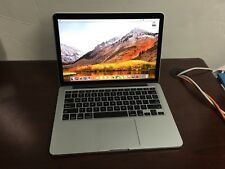 "MacBook Pro 13"" Retina (Mid 2014) 2.6 GHz i5 8gb 256GB PCIe MacOS High Sierra"