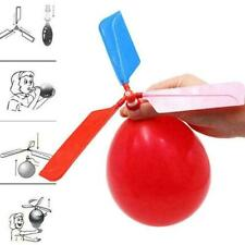 Funny Classic Sound Balloon Helicopter UFO Kids Flying I5J2 Outdoor Fun Bal J0P3