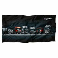 Genuine Original Scania Beach Towel New Truck Generation (Made in Sweden)