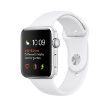 Apple Watch 1 38mm Silver Alu Case With White Sport Band