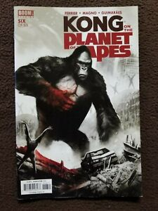 KING KONG OF THE PLANET OF THE APES #6 BOOM COMIC