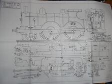 """""""Petrolea"""" G.E.R. 2-4-0 plans"""