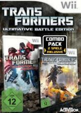 Nintendo Wii + Wii U Transformers Battle Edition stealth force + Cybertron Top